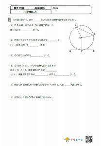 円の表し方